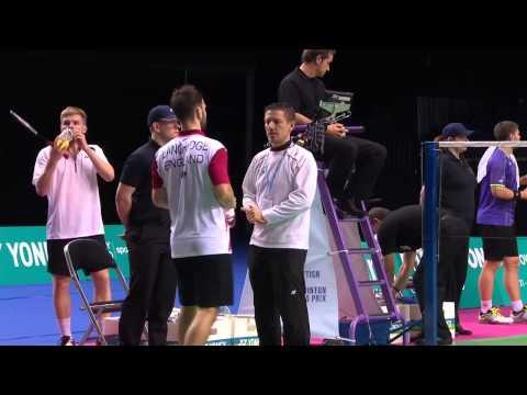 Badminton - Fuchs / Schoettler vs Ellis / Langridge (MD, SF) - Scottish Open 2015