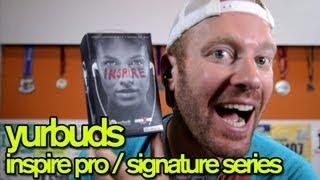 YURBUDS HEADPHONES REVIEW (Inspire Pro / Signature Series) - GingerRunner.com Review