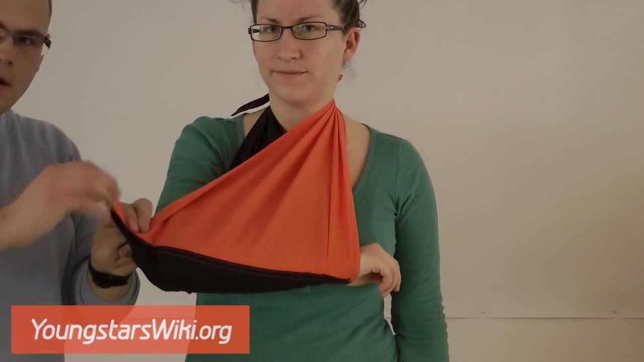 youngstarswiki armschlinge youtube. Black Bedroom Furniture Sets. Home Design Ideas