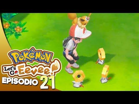 COME PRENDERE MELTAN E MELMETAL - Pokémon Let's Go Eevee ITA #21