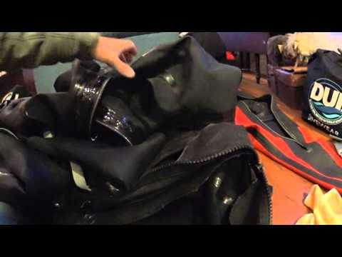 HOW TO - DUI DRYSUIT ZIPPER REPLACEMENT - PART 2
