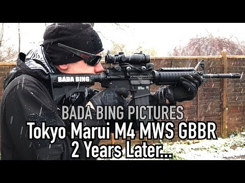 Tokyo Marui M4 MWS Review: Two Years Later...