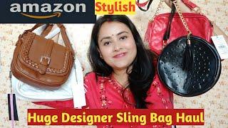 Huge Designer Amazon Sling Bag HaulBeautiful Handbags HaulAakankshakumar