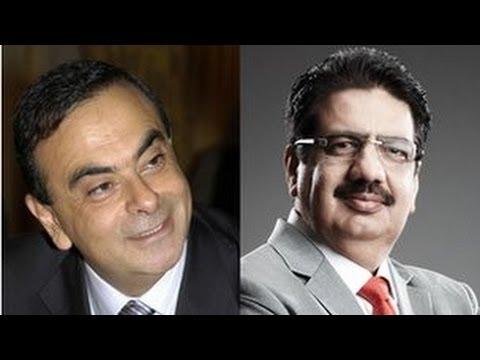 Carlos Ghosn and Vineet Nayar - Ideas Exchange - BBC