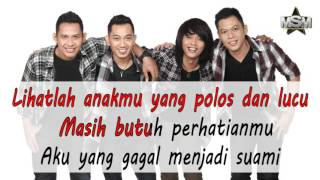 Kenangan band - Tolong Jaga Dia  Official Lyrics Video
