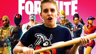 Kid Makes Terrible Song About Fortnite