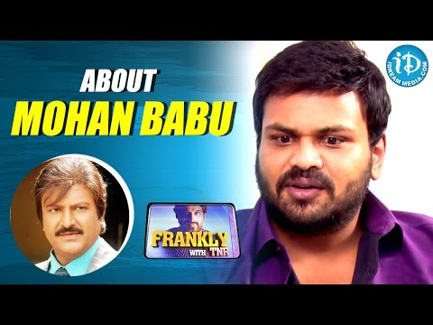 Manchu Manoj About His Father Mohan Babu || Frankly With TNR || Talking Movies with iDream