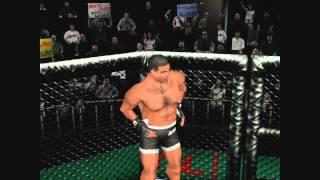 UFC Sega Dreamcast - Tournament Mode with Marco Ruas