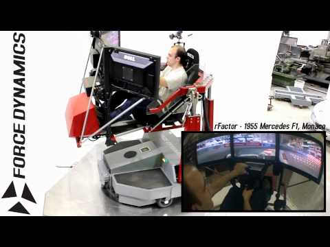Force Dynamics 401CR racing simulator - Introduction