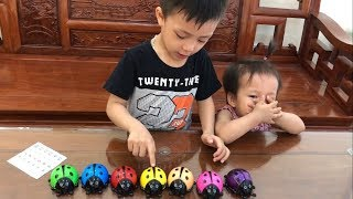 Learn Colors For Kids with Slime & Maybug | The Surprise For Kids