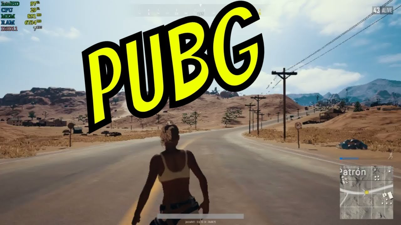 PLAYERUNKNOWN'S BATTLEGROUNDS PUBG On Low End PC