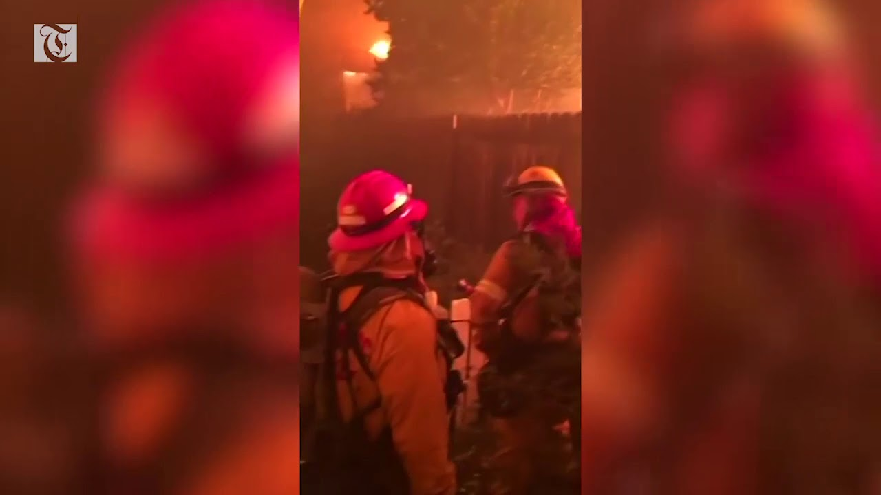 Firefighters struggle to stop California's spreading wildfires