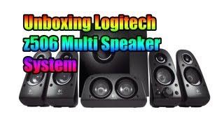 Logitech Z506 (5.1 Surround Sound Multi purpose Speaker) Unboxing