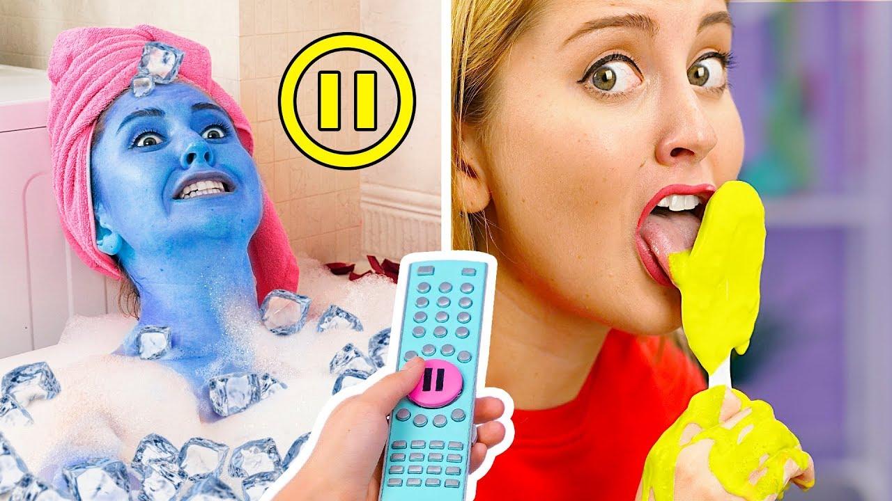 PAUZA CHALLENGE! Śmieszne Pranki! || Pauza Challenge Przez 24 Godziny od 123 GO! Challenge