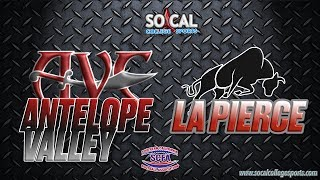 SCFA Football Week 11: LA Pierce at Antelope Vallley - 11/11 - 6pm