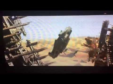 Star Wars Trailer ESPN halftime show(BLOCKED IN US)