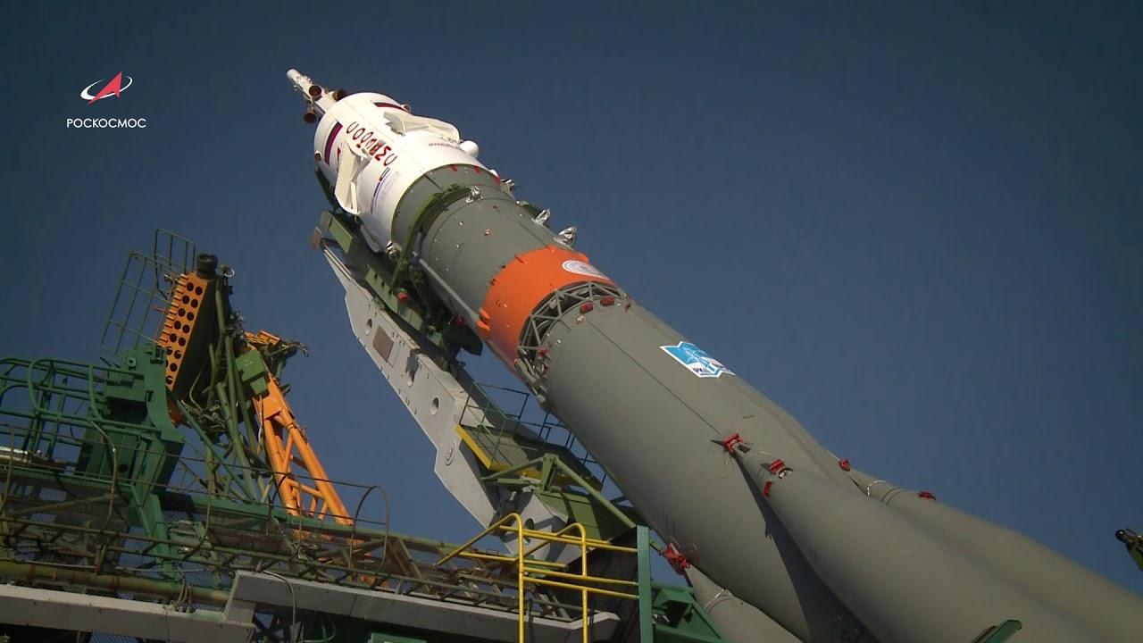 «Союз МС-15» вывезен на старт