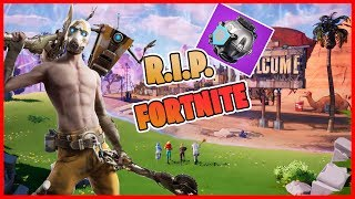 * NEW PATCH * RIP BUILT?? FORTNITE WITH CARTOONS. NEW LOCATION AND NEW ITEM