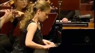 Julia Fischer -Grieg Piano Concert PART 2 with Junge Deutsche Philharmonie