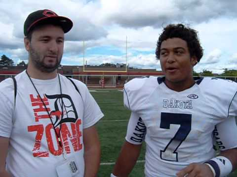 Interview with Dakota 2015 QB Maurice Moon