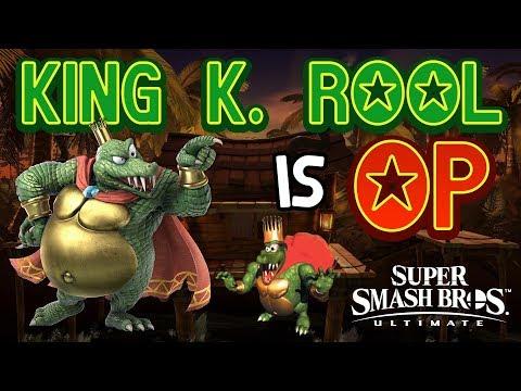 KING K. ROOL IS OP! - Smash Bros. Ultimate Montage