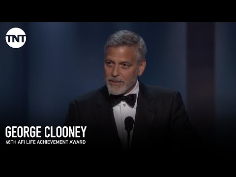 George Clooney Accepts the AFI Life Achievement Award | AFI 2018 | TNT