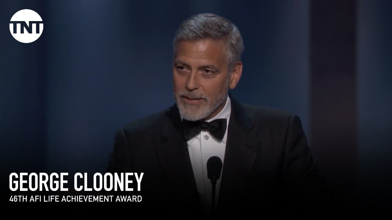 George Clooney Accepts the AFI Life Achievement Award ...