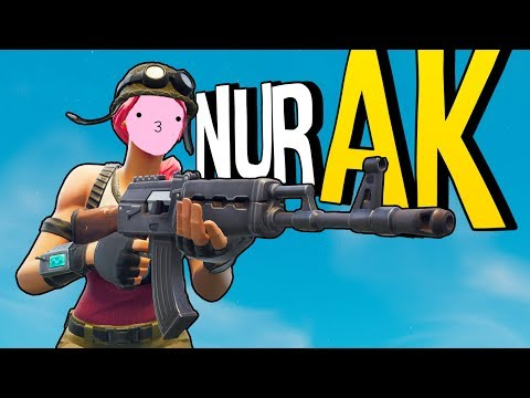 NUR AK CHALLENGE | Fortnite Battle Royale