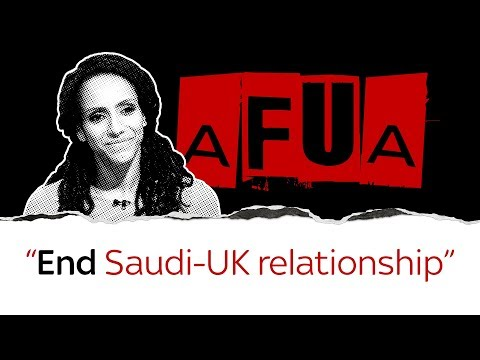 Afua Hirsch on UK's 'disgraceful' Saudi relationship
