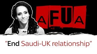 Afua Hirsch on UK's 'disgraceful' Saudi relationship