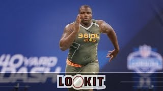 Watch Jadeveon Clowney, Greg Robinson run ridiculous NFL Combine 40s  (Lookit)