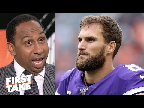 Vikings Blog - Stephen A. Smith has some harsh thoughts on Kirk Cousins [VIDEO]