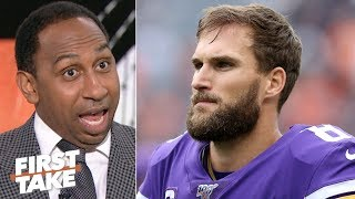Kirk Cousins is so bad, the Vikings could eat his $28 million salary - Stephen A.   First Take