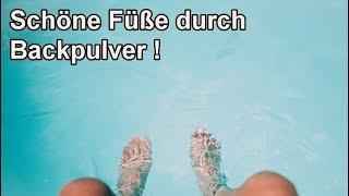 Hornhaut effektiv mit Backpulver an den Füßen entfernen – DIY Fußbad & Peeling mit Hausmittel