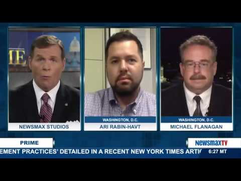 Newsmax Prime   Ari Rabin-Havt and Michael Flanagan on Trump's tough stance on illegal immigration