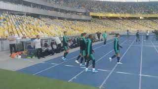 Тренировка сборной Португалии на НСК