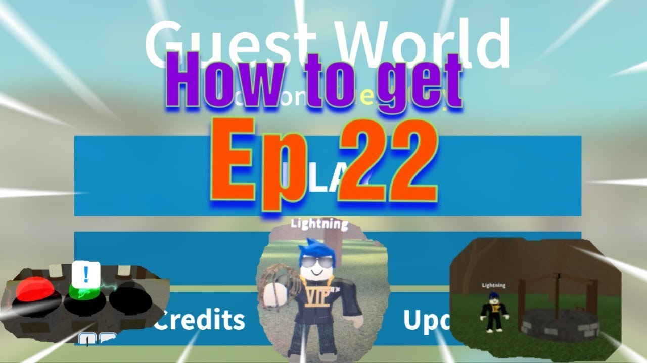 Roblox Guest World How To Get Rope