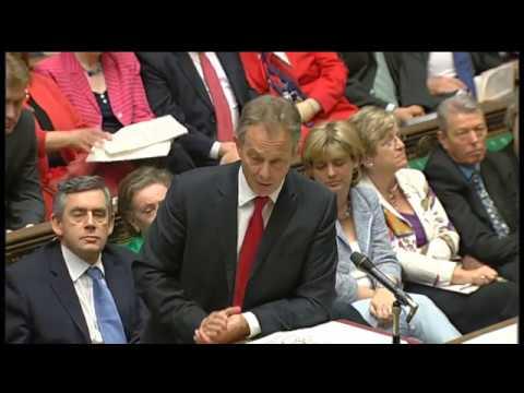 Tony Blair's last Prime Minister's Questions: 27 June 2007