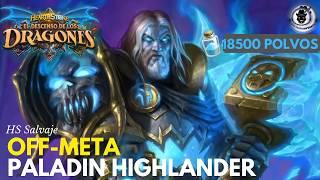 Hearthstone Salvaje Off-Meta    Paladín Highlander OTK