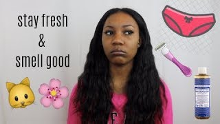 Feminine Hygiene Tips! (Shaving Routine, Preventing Ingrowns & Bumps, Exfoliating, Waxing) 2019
