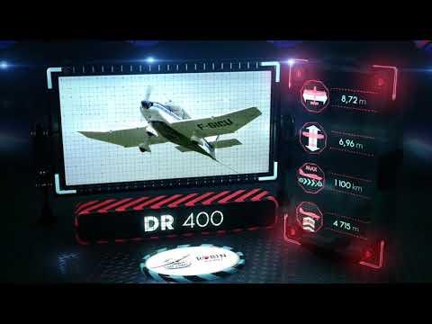 Vol du DR400 | Salon du Bourget 2019