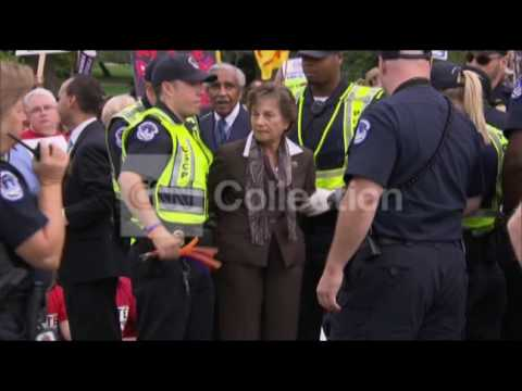 DC IMMIGRATION RALLY- POLITICIANS ARRESTED