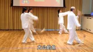 養生太極拂塵表演 (2013.02.02)
