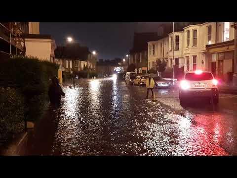 Edinburgh Flood August