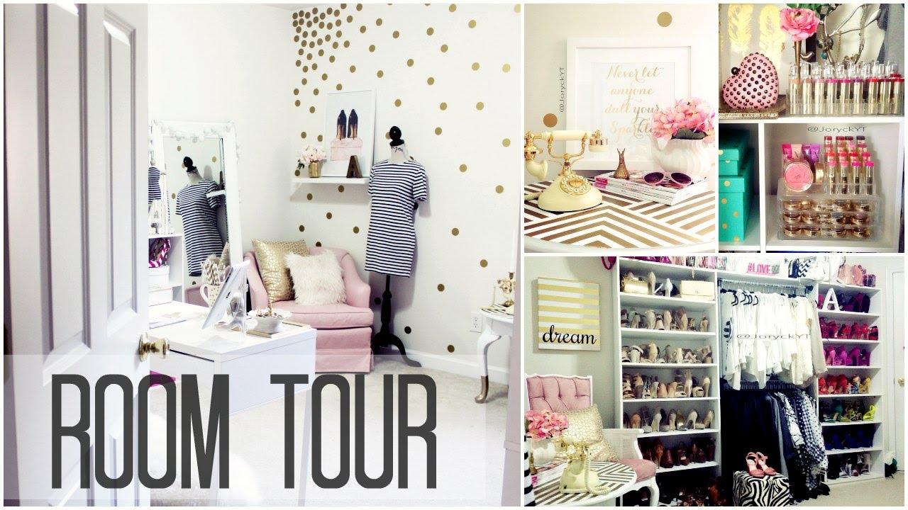 Room tour closet cuarto de grabacion y oficina joryck for Cuarto con walking closet