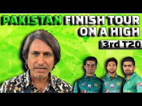 Pakistan Finish Tour on a High | 3rd T20 | Ramiz Speaks