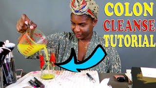 A Natural Way To Do A Colon Cleanse At Home Tutorial