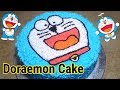 DORAEMON CAKE_How to make cartoon character cake for kids_Birthday cake for kids