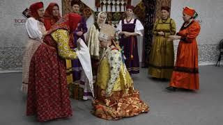 """""""Обряд одевания невесты""""-  выставка """"Тюбетейка"""""""