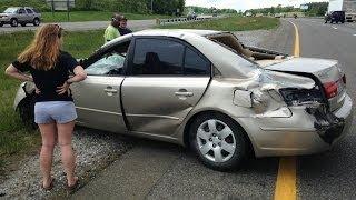 Amazing Car Crashes Compilation Road Accident 2014